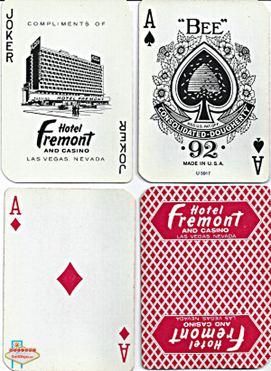 These playing cards were gifts 