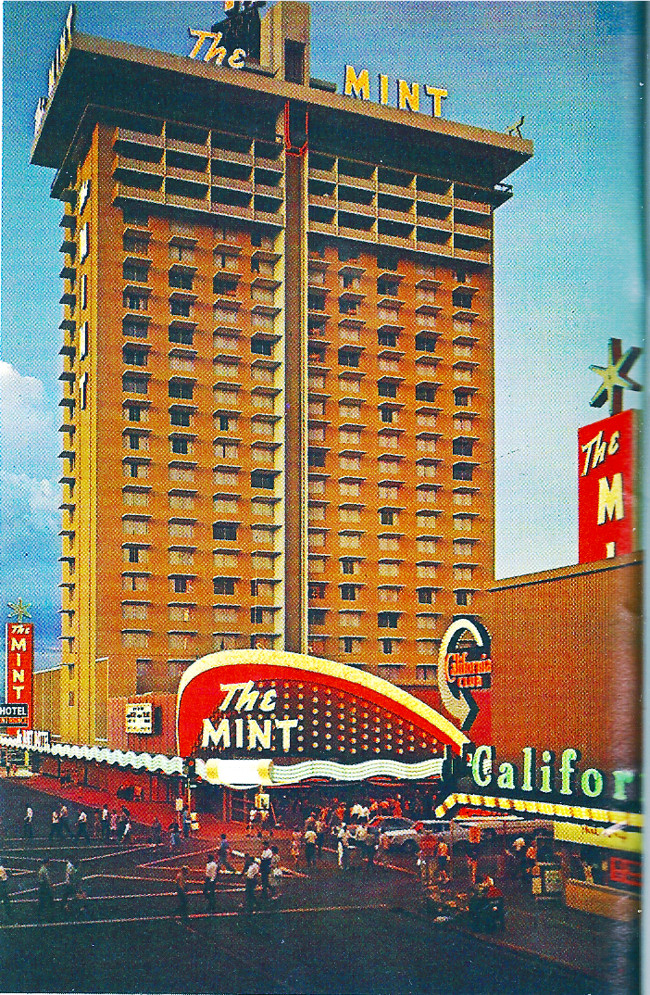 Mint Casino Downtown Las Vegas 1957 To 1989 Page 1